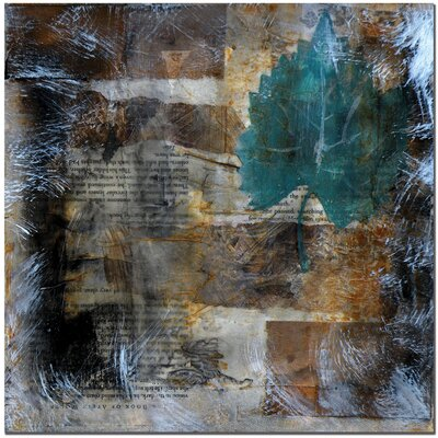 Trademark Fine Art 'Memento II' by Nicole Dietz Painting Print on Canvas