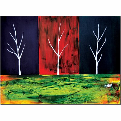 "Trademark Fine Art The Split by Nicole Dietz, Canvas Art - 14"" x 19"""