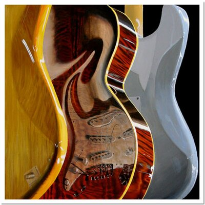 Trademark Fine Art 'Music Store' by Roderick Stevens Photographic Print on Canvas