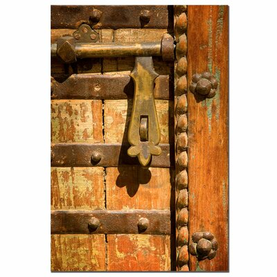 Trademark Fine Art The Latch by Aianaon Photographic Print on Canvas