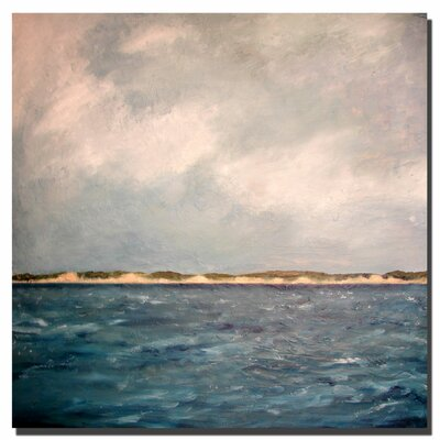 "Trademark Fine Art Dunes of Lake Michigan with Big Sky by Michelle Calkins, Canvas Art - 24"" x 24"""