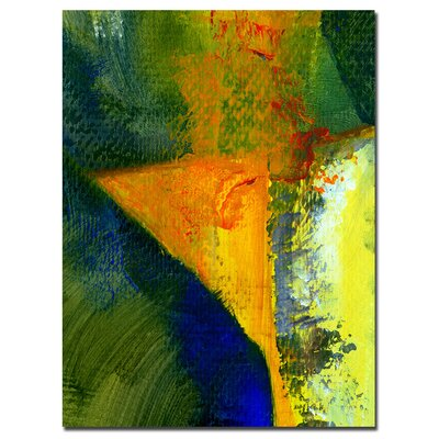 "Trademark Fine Art Orange and Blue Color Study by Michelle Calkins, Canvas Art - 32"" x 24"""