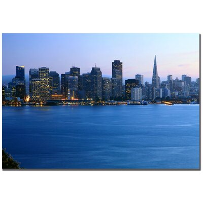 Trademark Fine Art San Francisco, CA by Yakov Agani Canvas Art