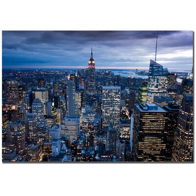 Trademark Art New York Ctiy, NY by Yakov Agani Canvas Art