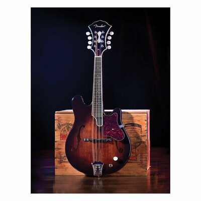 Trademark Fine Art Mandolin Canvas Wall Art