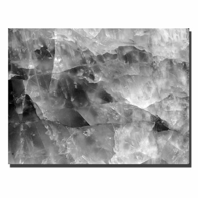 "Trademark Fine Art ""'Quartz Abstract"" by Kurt Shaffer Photographic Print on Canvas"