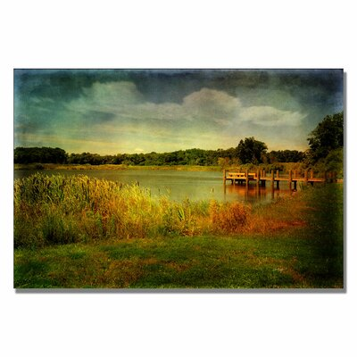 Trademark Fine Art 'Gone Fishin' Canvas Art