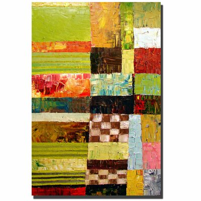 Trademark Fine Art 'Abstract Color Study' Canvas Art