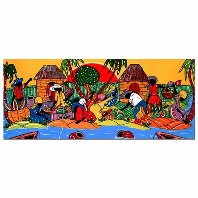 Trademark Fine Art 'Caribbean Armory' Canvas Art