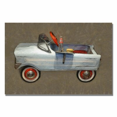 Trademark Fine Art 'Tee Bird Pedal Car' Canvas Art
