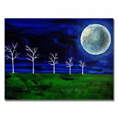 'Blue Moon' Canvas Art