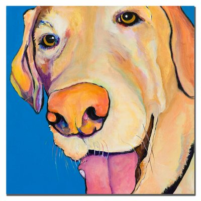 """Trademark Fine Art """"Rex"""" by Pat Saunders-White Painting Print on Canvas"""
