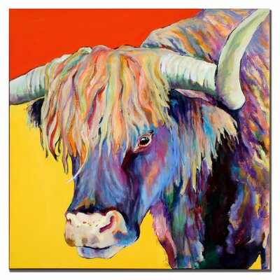 "Trademark Fine Art ""Scotty"" by Pat Saunders-White Painting Print on Canvas"