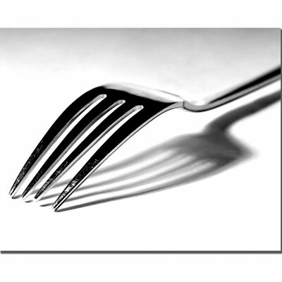 "Trademark Fine Art ""Fork"" by Tammy Davison Photographic Print on Canvas"