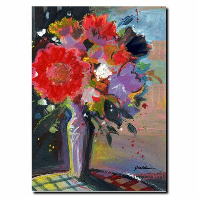 'Sunlight Bouquet' by Sheila Golden Painting Print on Canvas
