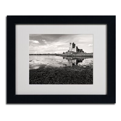 "Trademark Fine Art ""Irish Castle"" Matted Framed Art"