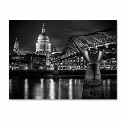"Trademark Fine Art ""Letters From London"" Canvas Art"