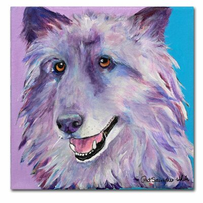 Trademark Art 'Puppy Dog' Canvas Art