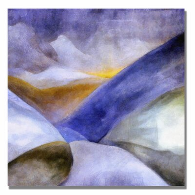 'Mountain Landscape' Canvas Art