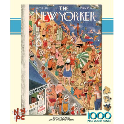 Beachgoing 100-Piece Puzzle