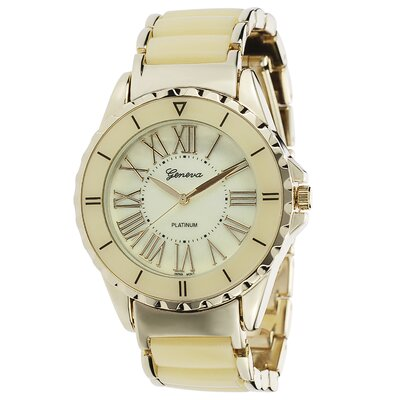 Women's Roman Numeral Link Watch