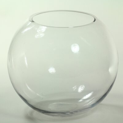 Round Glass Fish Bowl