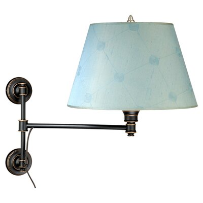 Laura Ashley Home State Street Swing Arm Wall Lamp