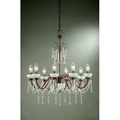 Laura Ashley Home Aimee 8 Light Chandelier