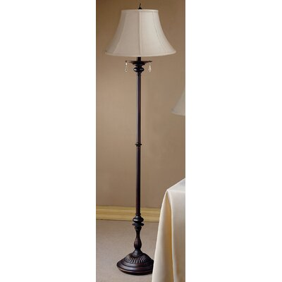 Laura Ashley Home Beverly Floor Lamp with Calais Shade