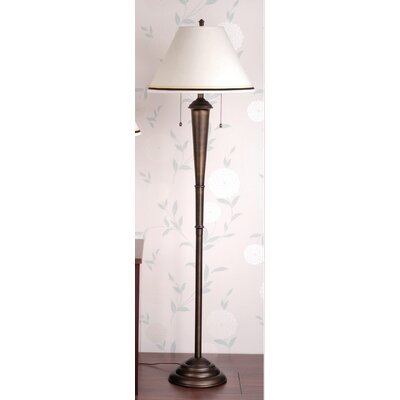 Laura Ashley Home Marshall Floor Lamp with Wilby Empire Shade