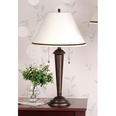 Laura Ashley Home Marshall Table Lamp with Wilby Empire Shade