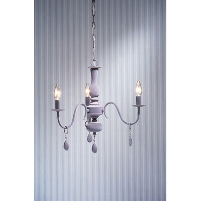 Laura Ashley Home Rosetti 3 Light Chandelier