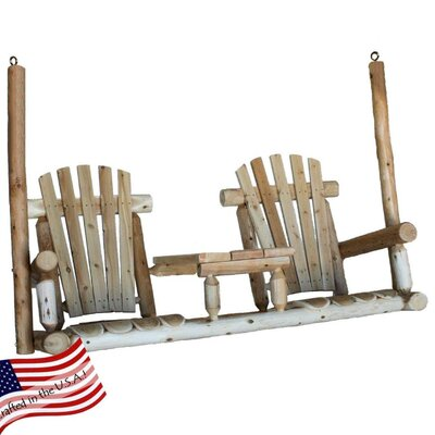 Lakeland Mills Tete-A-Tete Porch Swing