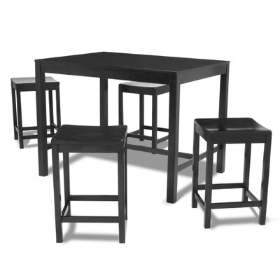 Parsons 5 Piece Counter Height Dining Set