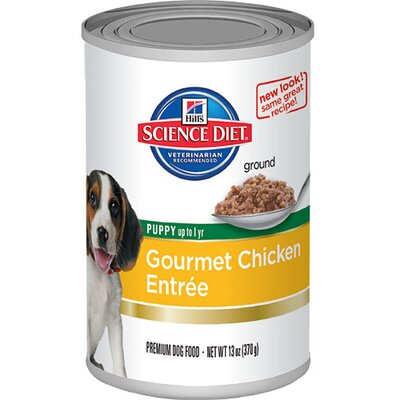 Puppy Gourmet Chicken Entrée Wet Dog Food (13-oz)