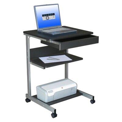 rolling laptop desk the techni mobili rolling laptop desk works