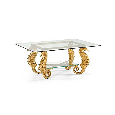 Chelsea House Seahorse Coffee Table