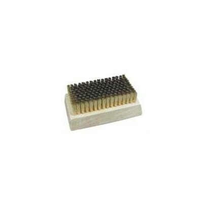 Stainless Steel Fine Filament Block Brush