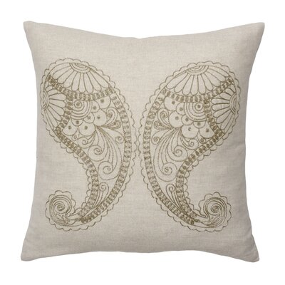 Modern Living Bindu Polypropylene Paisley Decorative Pillow