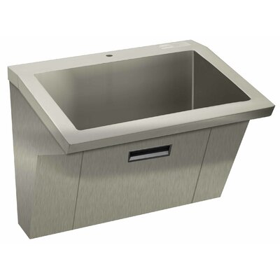"Advance Tabco Wall Mount ADA Compliant 36"" x 20"" 1 Compartment Scrub Sink"