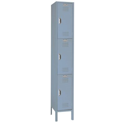 Lyon Workspace Products Set-up Triple Tier Locker