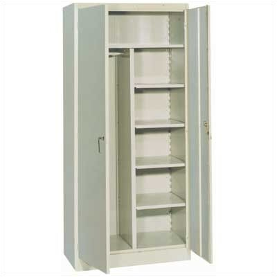 "Lyon Workspace Products 1000 Series 36"" Wide Combination Cabinet:  78"" H x 36"" W x 21"" D"