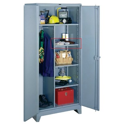 Lyon Workspace Products Extra Half Shelf Set for Combination Cabinet 36&quot; W x 18&quot; D