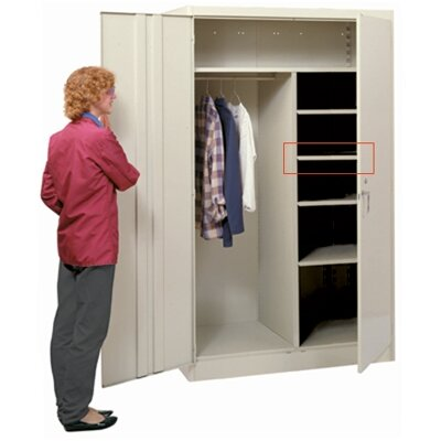 Lyon Workspace Products Extra Half Shelf for 48&quot; W Combination Cabinets