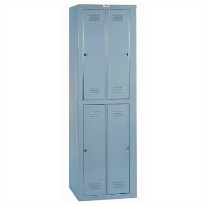 Lyon Workspace Products 4 Compartment ExchangeMaster Locker - 1 Section (Assembled)