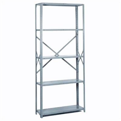 "Lyon Workspace Products 8000 Series Open Shelving - 5 Shelves: 84"" H x 36"" W x 18"" D"