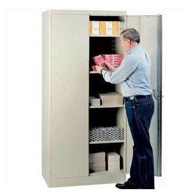 "Lyon Workspace Products Extra Shelf Set for 36"" W x 21"" D Storage Cabinets"
