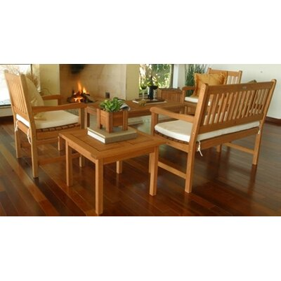 International Home Miami Amazonia Milano 5 Piece Lounge Seating Group