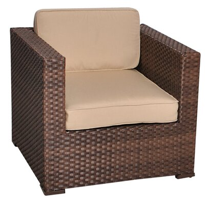 International Home Miami Aventura 2 Piece Deep Seating Group with Cushion