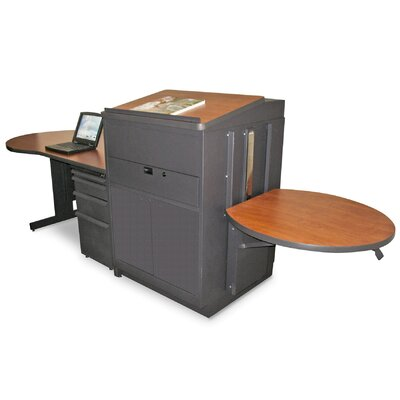 Marvel Office Furniture Zapf Office Support Teacher's Desk with Steel Door